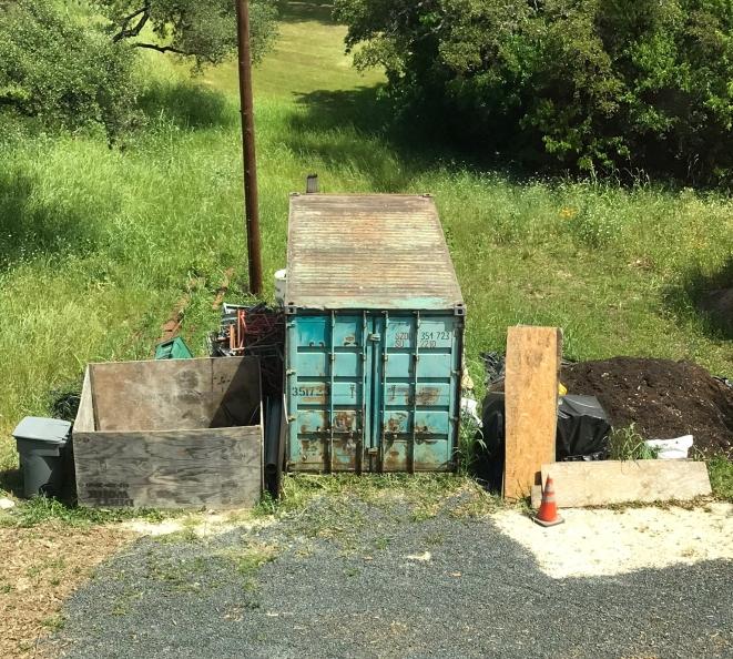 contractor dumpster n storage